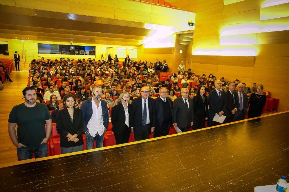 """Presentación de la campaña """"Valores que construyen sueños"""" en Galicia"""