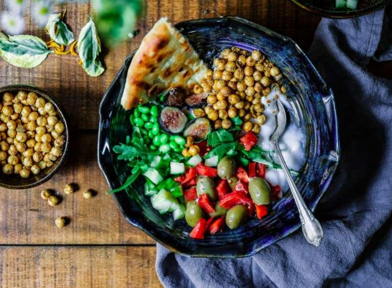 Cada vez más personas siguen una alimentación vegana
