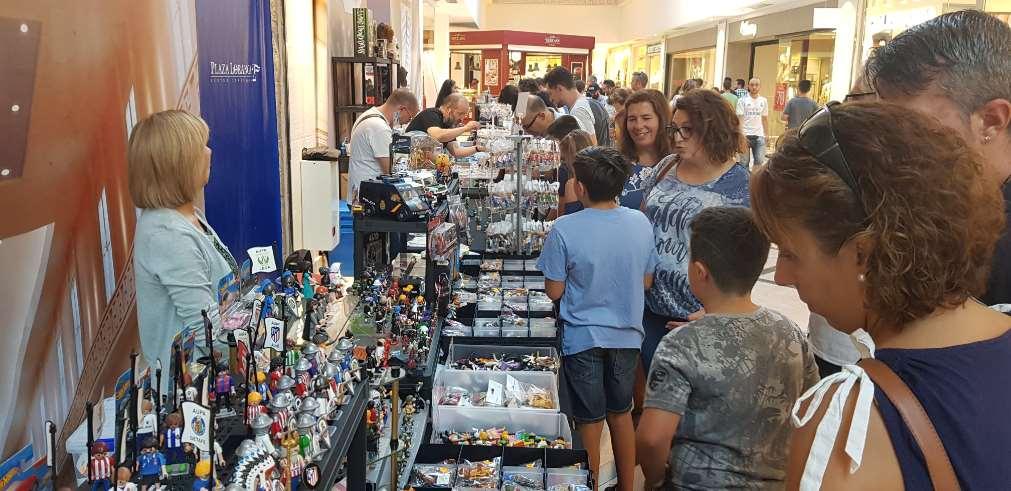 Nueva edición del Mercado del Juguete de Madrid con talleres gratuitos de Playmobil para niños