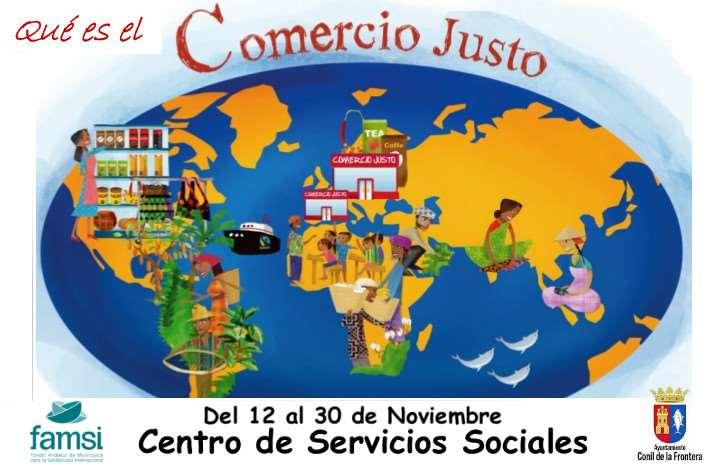 """Exposición """"Qué es el comercio justo"""" en Conil"""