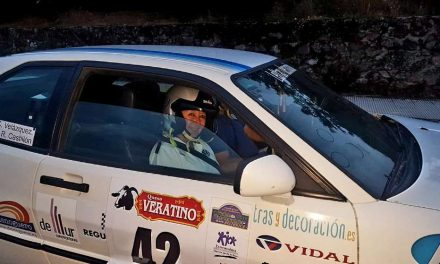 """Canela"" logra ser Subcampeona de España de Rally con 62 años"