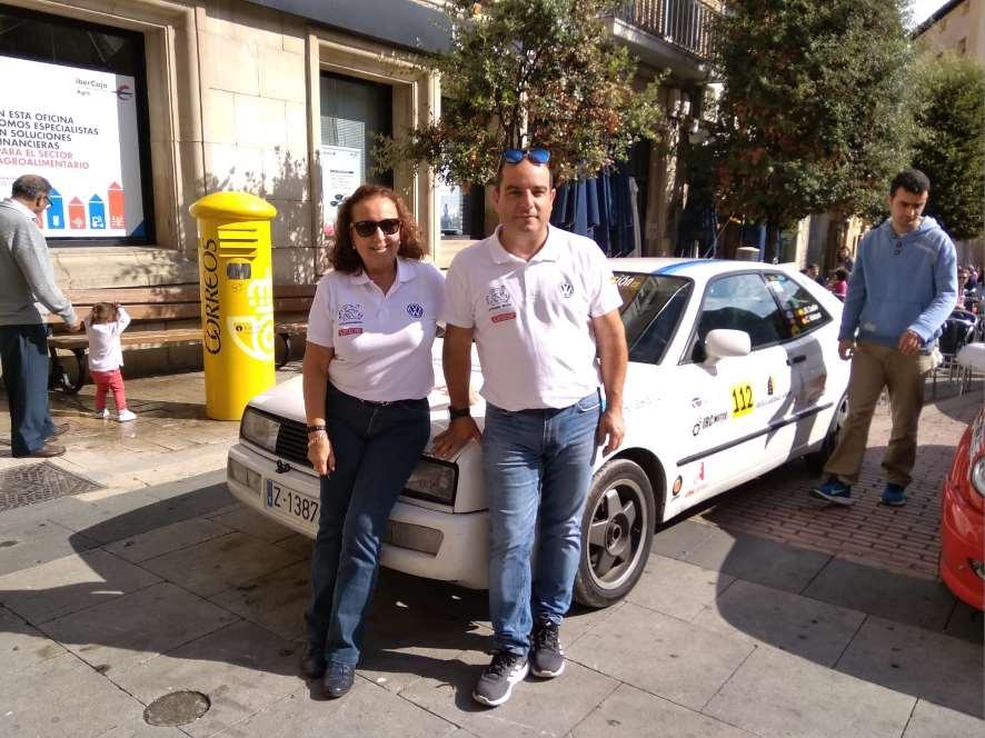 """""""Canela"""" también resultó vencedora en las dos pruebas más importantes delCampeonato Andaluz: el Rally Sierra Morena y el Rally Sierra de Cádiz"""