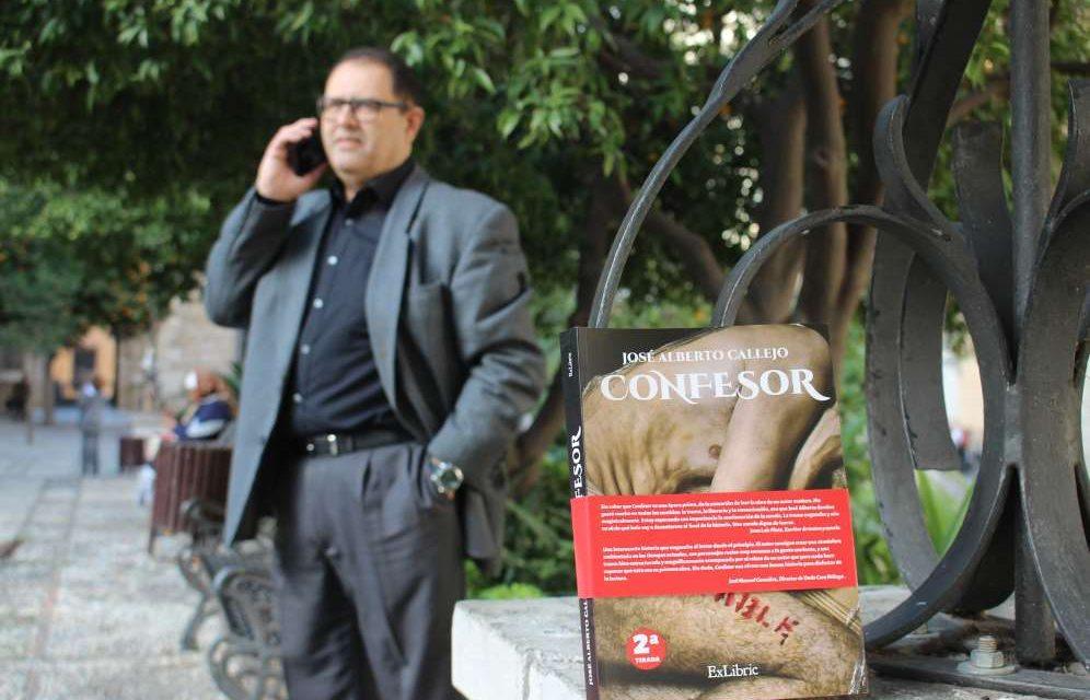 Confesor: un libro en el que puedes hablar con sus protagonistas