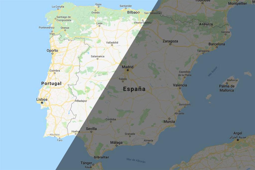 En algunos lugares la Luna se pondrá antes de que termine el eclipse, de hecho, en España sólo se podrá ver este eclipse entero al oeste de una línea imaginaria que va, aproximadamente, desde Huelva a Guipúzcoa