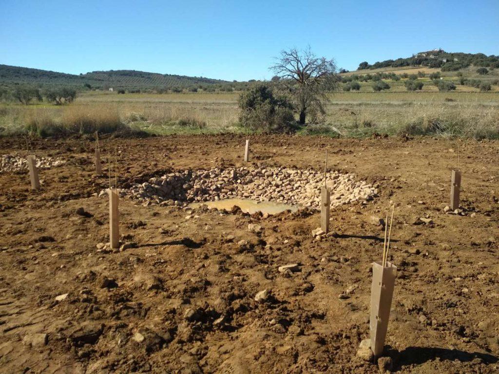 En Castellar de Santiago se ha restaurado una finca agrícola perteneciente a la Red Natura 2000