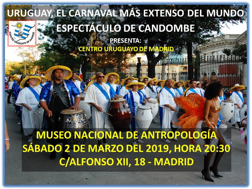 carnaval uruguayo, candombe
