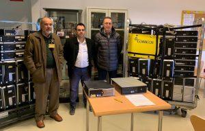 Donación equipos informaticos, Correos