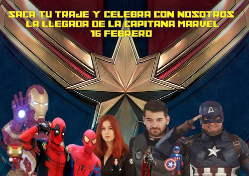 Este sábado la 'Capitana Marvel' te espera en el Mercado del Juguete de Madrid
