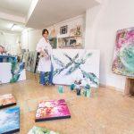 Marcela Once es una artista plástica que agita conciencias a través de su obra