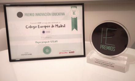 El Colegio Europeo de Madrid se alza con el premio al Mejor Proyecto de STEAM