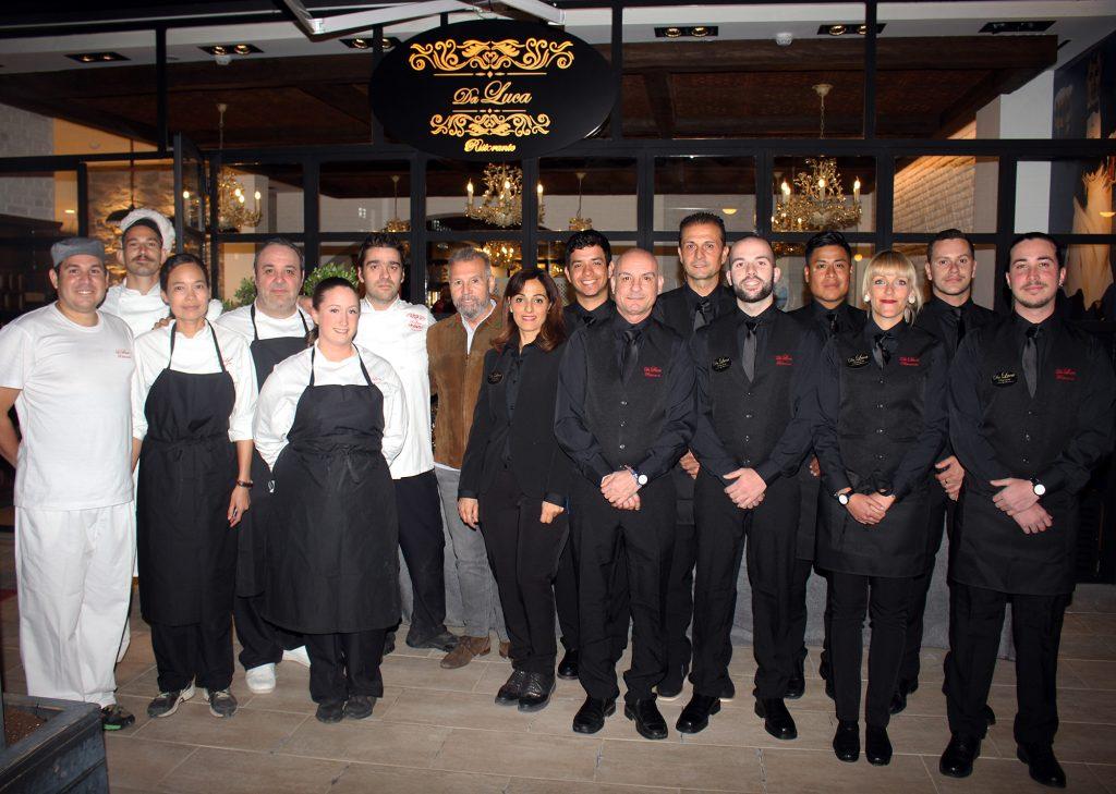 equipo restaurante da luca