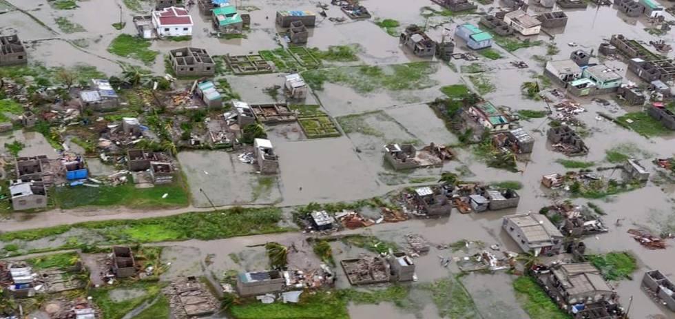 ciclón idai, mozambique