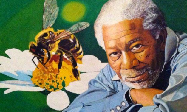Morgan Freeman ayuda a evitar que las abejas no se extingan desde su casa