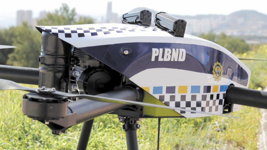 drone policial, benidorm