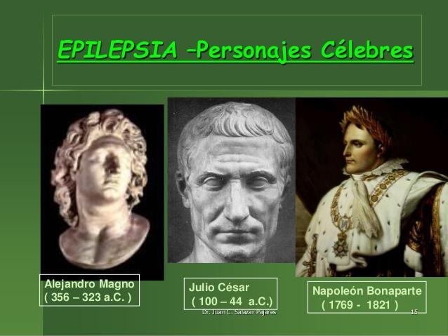 personajes célebres epilépticos