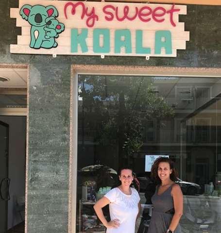Alicia y Elena a cargo de My Sweet Koala, un club familiar y tienda para bebés en el Rincón de la Victoria (Málaga)