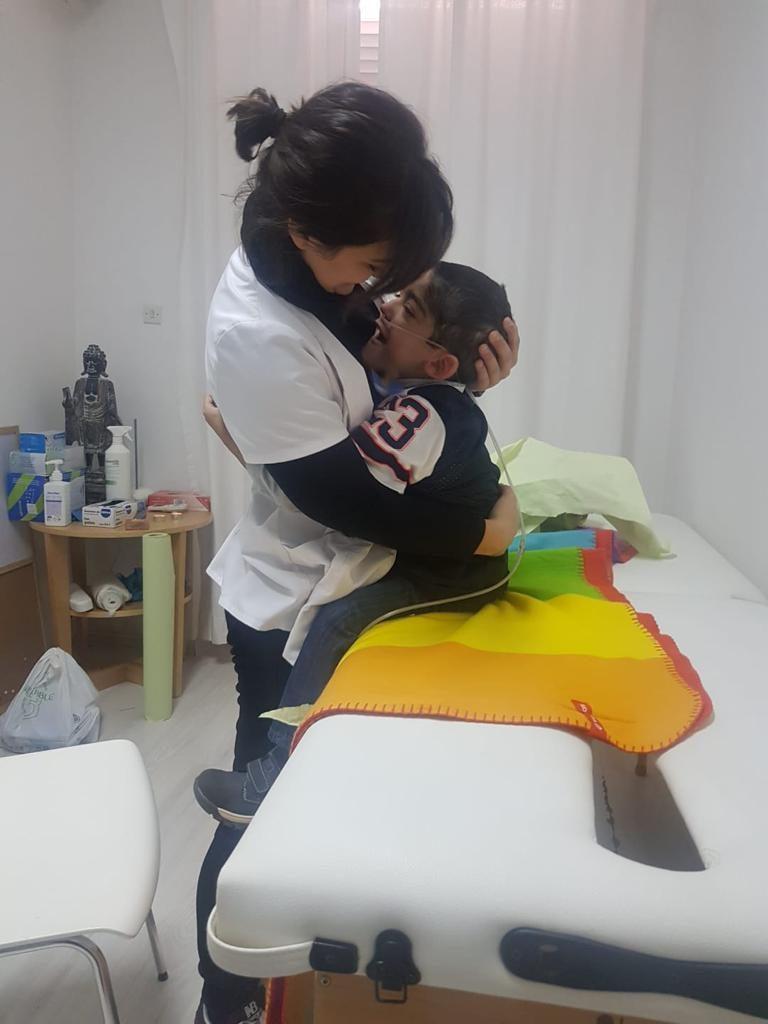 fisioterapia en niños enfermos de cáncer