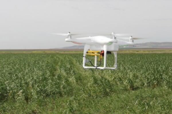 drone, energías renovables