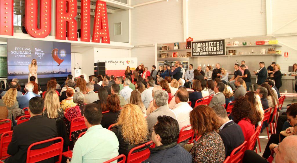 Un momento de la presentación Soles de Málaga 2019