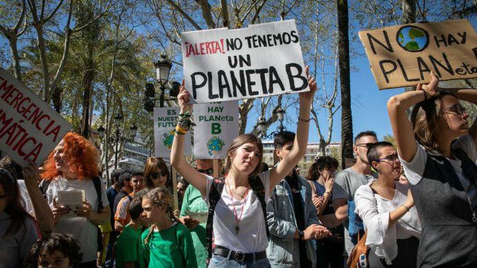 manifestación por cambio climático