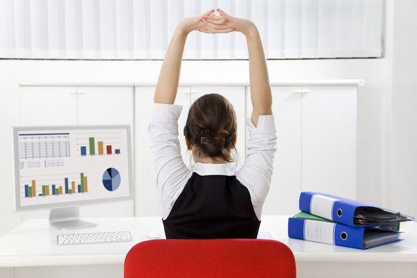 yoga en el trabajo