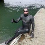 Segundo récord mundial que consigue el nadador extremo Carlos Peña
