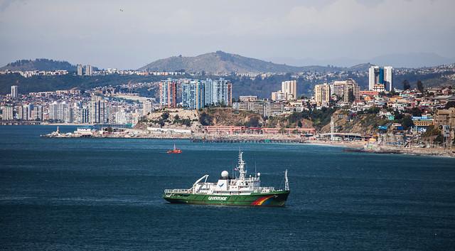 barco esperanza, greenpeace
