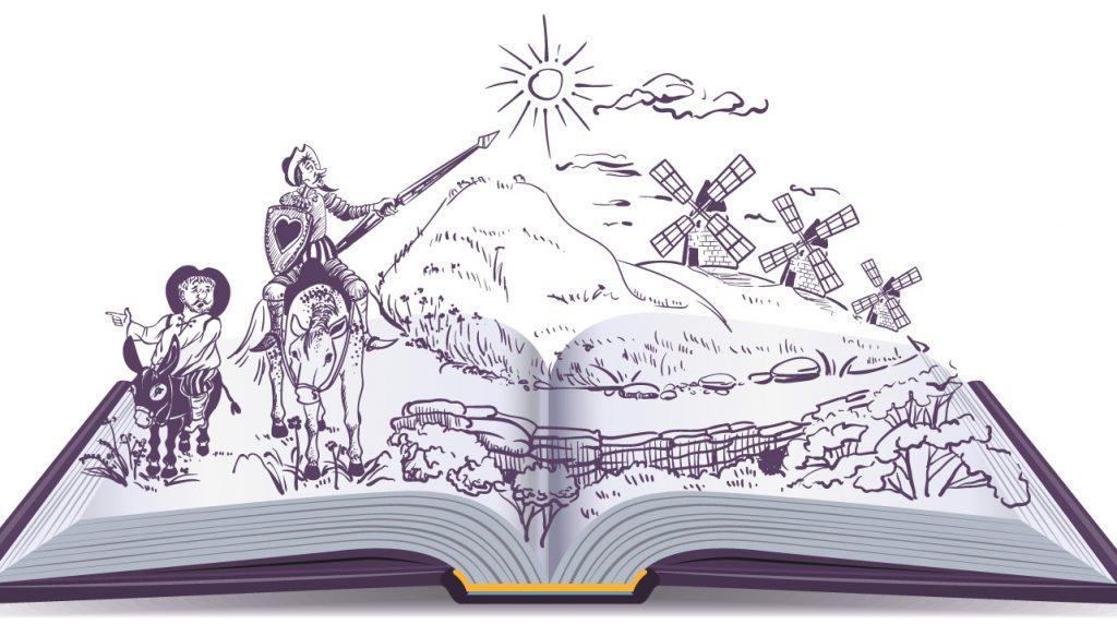 el quijote, lectura accesible