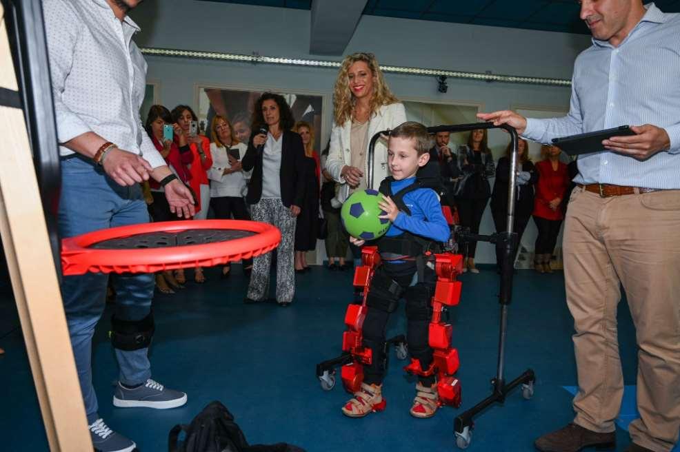 Un nuevo laboratorio de robótica investigará terapias de enfermedades neurológicas en Arganda del Rey (Madrid)