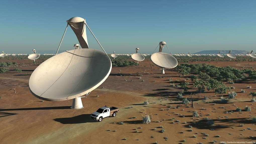 Científicos granadinos participan en el diseño de SKA, el radiotelescopio más grande del mundo