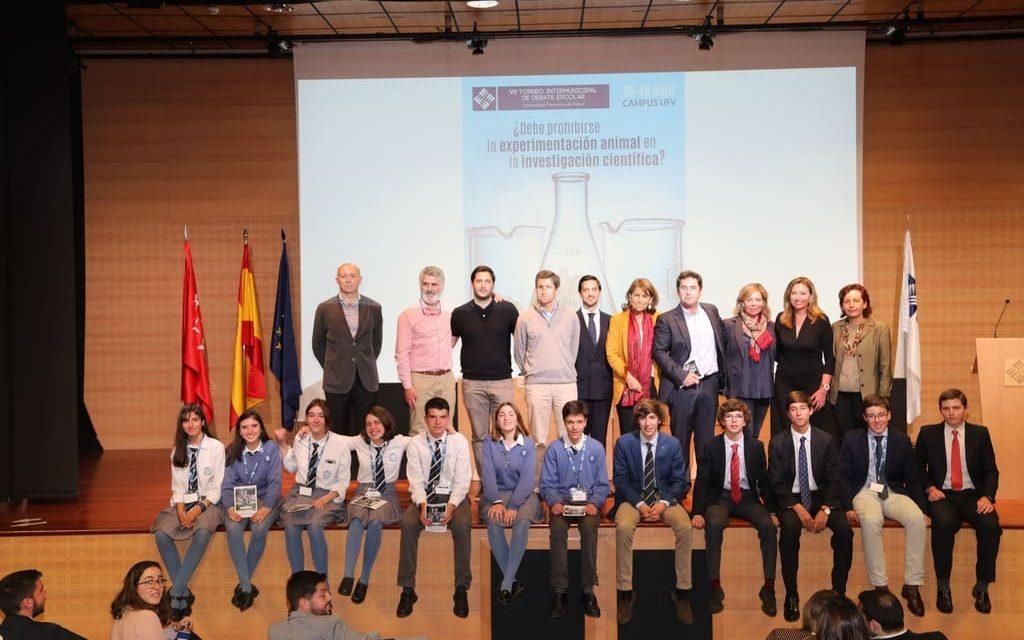El torneo de debate de la UFV destacó por el alto nivel de sus alumnos