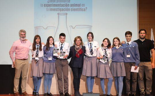 El colegio Santa Gema Galgani, de Madrid resultó el ganador del primer premio