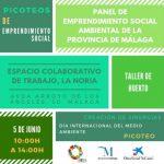 Picoteo de emprendimiento social en La Noria por el día internacional de medio ambiente
