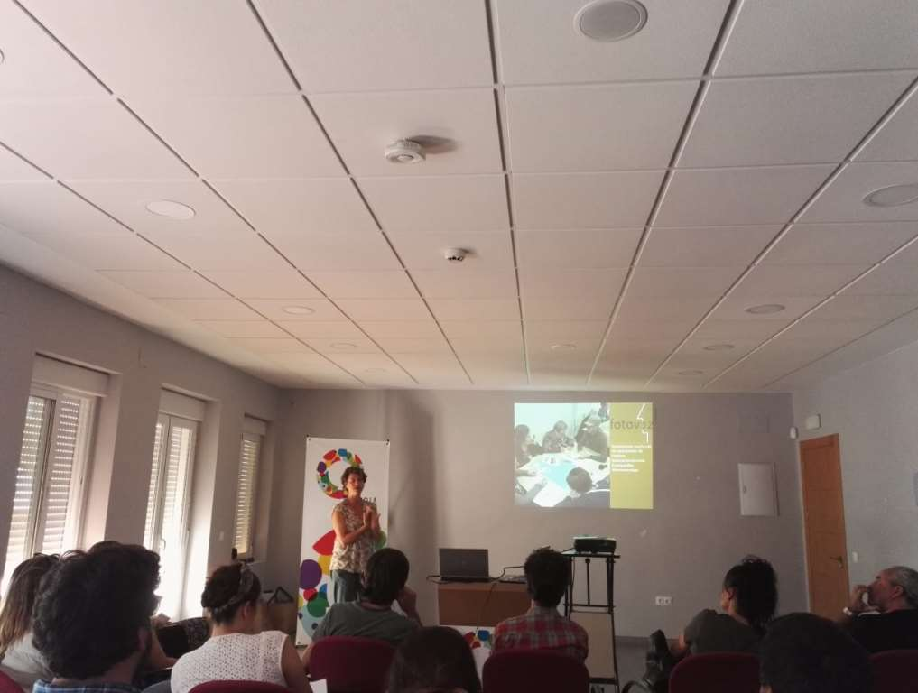 La asociación Almunia tomó el relevo para mostrar los resultados de su proyecto Fotovoz