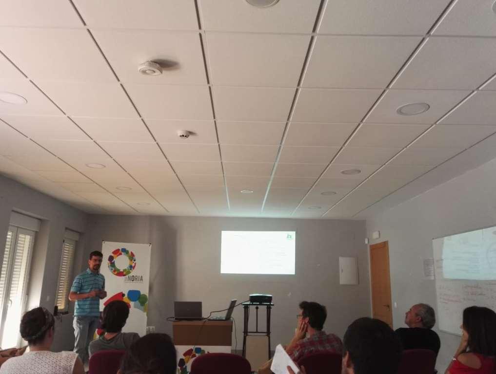"""Ander de Abrisqueta de Ecoherencia expuso su proyecto """"Biodiversas"""""""