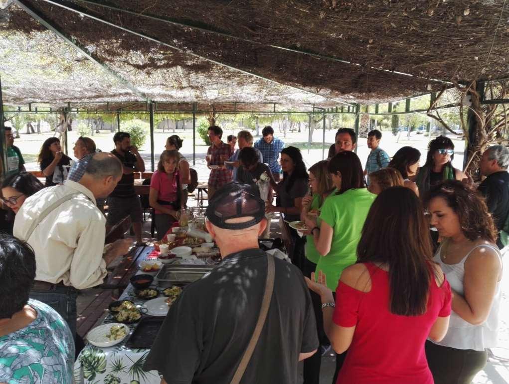 El evento finalizó con un picoteo saludable a cargo de La Cuchara Verde y PlaMFuturo