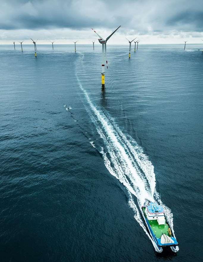 la energía eólica marina necesita el apoyo de la Unión Europea para las inversiones masivas necesarias en la capacidad de la red en alta mar