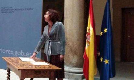 La Secretaria de Estado de la España Global Irene Lozano visita México