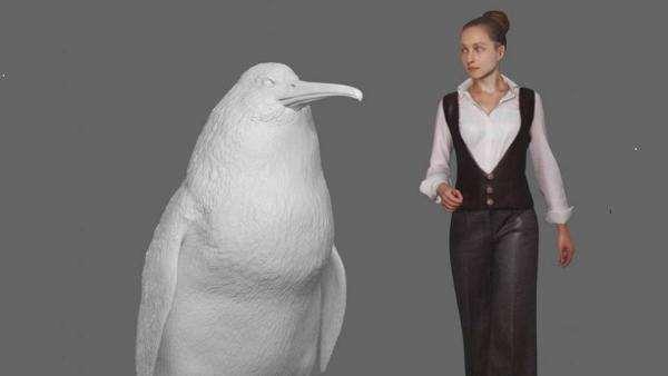 Descubren el fósil de un pingüino gigante