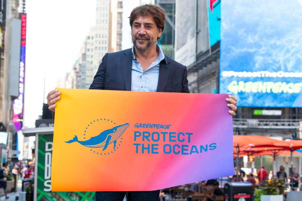 """Bardem ha asegurado que """"Lo que ocurra durante esta conferencia tendrá un profundo impacto en la vida de nuestros océanos y en el futuro de la humanidad"""""""