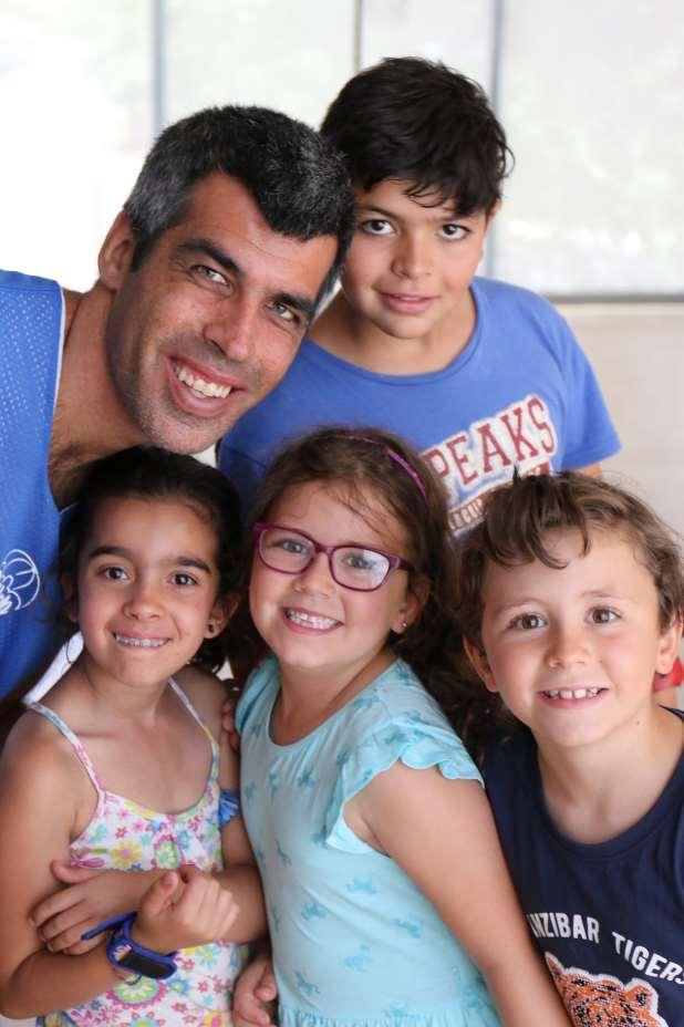 En Integracamp ha participado también Roberto Chinchilla, embajador de la Fundación y actor de la película 'Campeones'