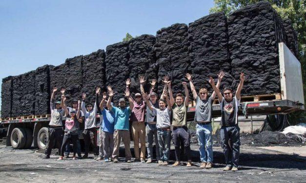 El proyecto Net100-Net+Positiva de recogida y reciclaje de redes de pesca 2º premio de Latinoamérica Verde