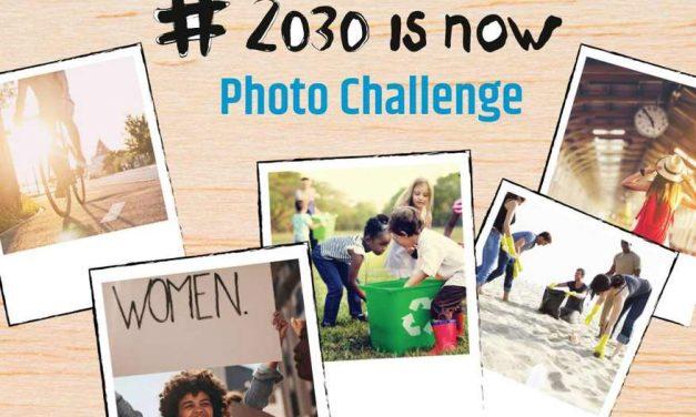 Concurso fotográfico europeo #2030isNow sobre el cuidado del planeta