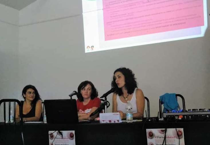 Carmen Madueño manifiesta ser «consciente de la cantidad de información que tenemos hoy al alcance relacionada con Educar
