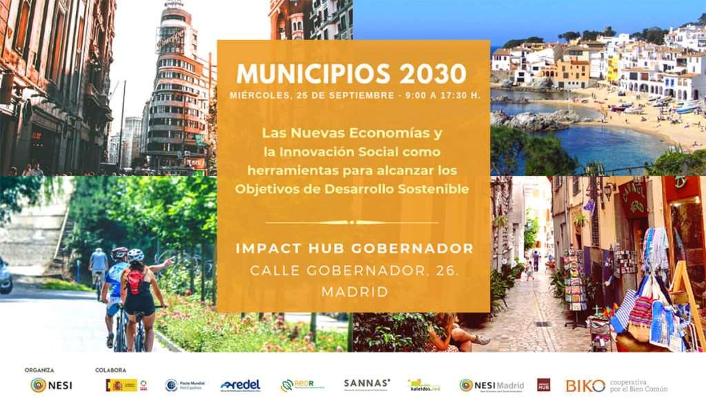 Jornada Municipios 2030 en Madrid