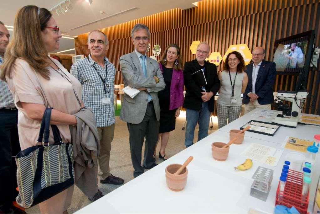 Evolución y Conservación de Plantas', la nueva Ventana a la Ciencia que ha inaugurado hoy el Parque de las Ciencias de Granada