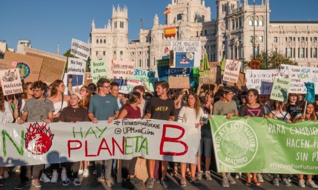 27S: Clamor de la ciudadanía ante la emergencia climática