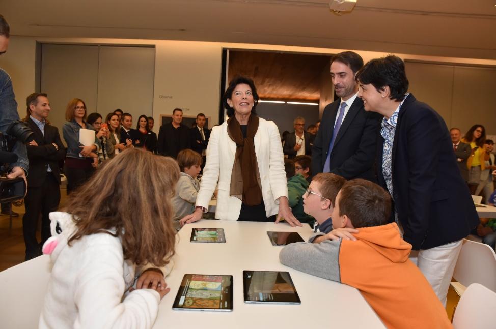 Isabel Celaá, ministra de Educación y Formación Profesional en funciones del Gobierno de España