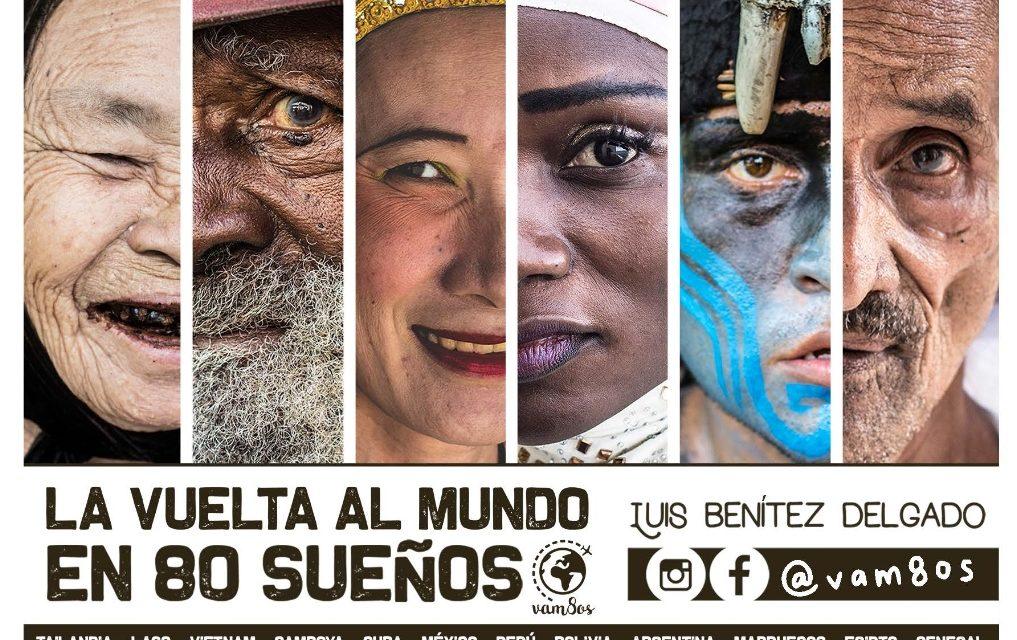 """Exposición fotográfica """"La vuelta al mundo en 80 sueños"""" en Huelva"""