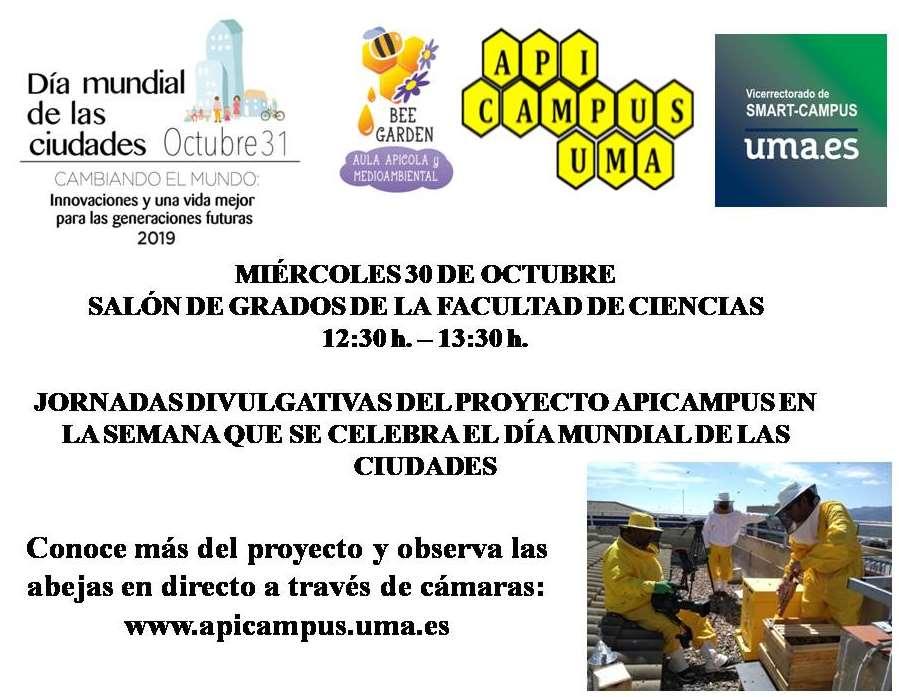 Jornadas Divulgativas Apicampus en Málaga